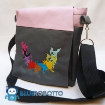 Eeveevolutions small messenger bag by BlueRobotto