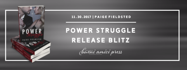 Power Struggle Release Blitz FB